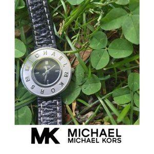 Michael Michael Kors Leather Watch